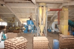 Grinding-drying unit AS-4, briquetting line, briquettes